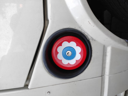 Tankdeckel T 2 mit Prilblume