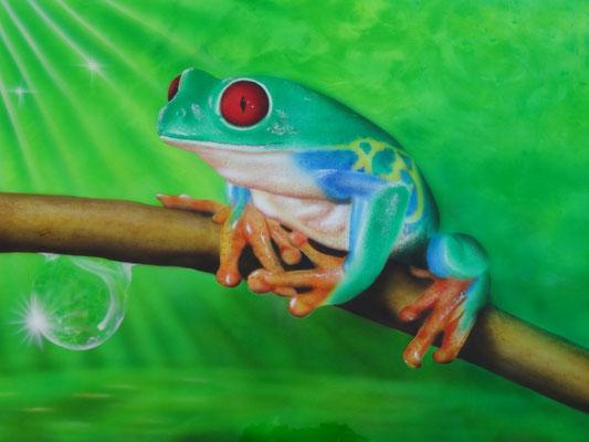 Laubfrosch Grün