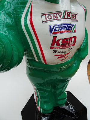 RS Kart Helmet Stand Design by Colorair
