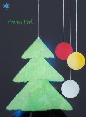 Weihanchtsbaum Weihnachtskugel