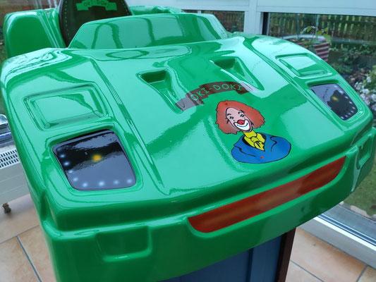 Kiddy Car Lackierungen