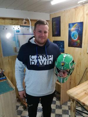 Unihoc Helm Airbrush