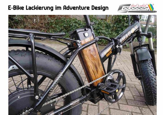 Fahrradlackierungen