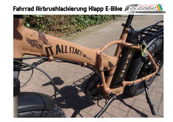 E- Bike lackierung