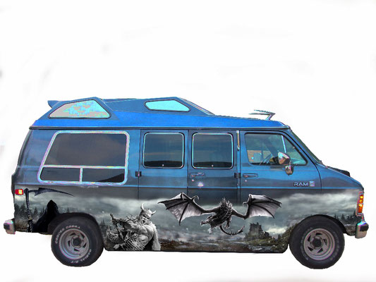 Airbrush Design US Van