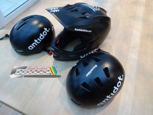 BMX Helm Airbrush