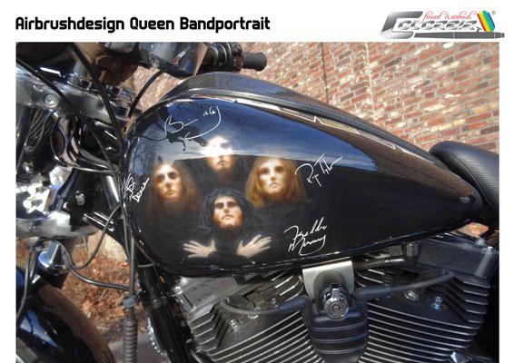 Bandportrait Queen