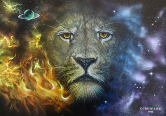 Löwe Fantasy Motiv