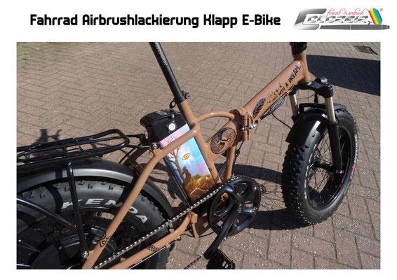 Fahrrad Lackierung
