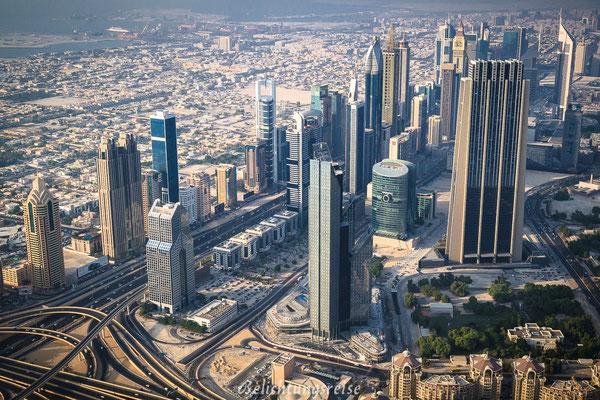 Burj Khalifa - Besucherplattform
