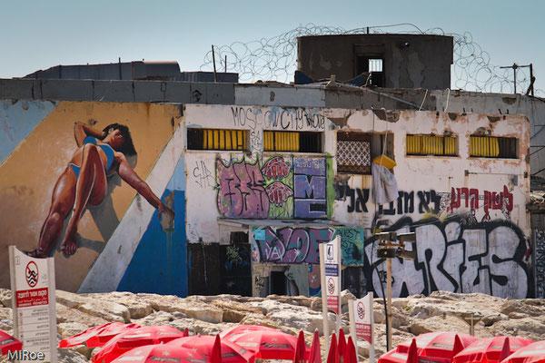Südliches Ende Aviv-Beach