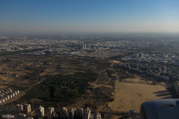 Anflug Tel Aviv