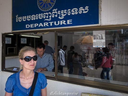 Grenzübergang Kambodscha