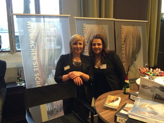 Vika & Laura im Steigenberger Hotel