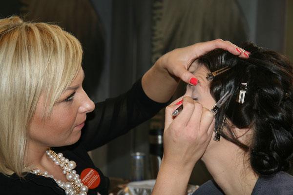 Make Up mit Viktoria