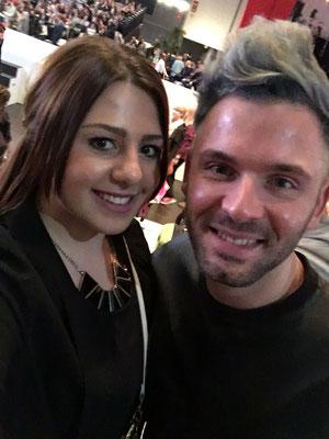 Laura mit Daniel Holz
