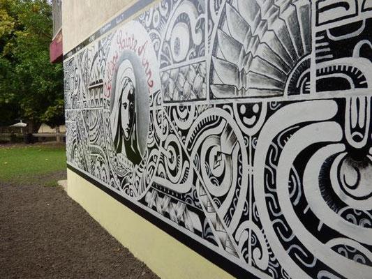 Fresque bâtiment B