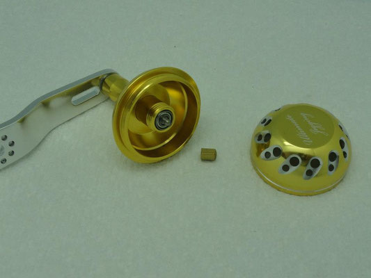 UJ Custom Arm w/ Ultimate Jigging 45mm Reel Knob w/ B Type Shaft
