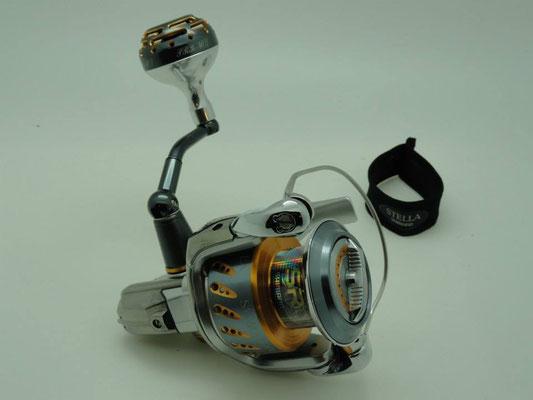 Shimano Stella SW5000 Reel w/ UJ 40mm Reel Knob w/ NS Cup