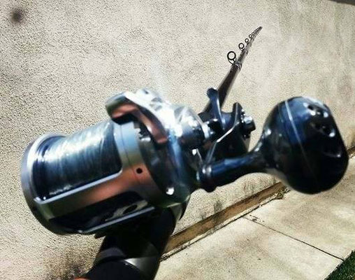 Shimano Trinidad A Series 10 - 30 w/ UJ 45mm Reel Knob