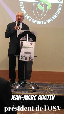 Jean Marc ABATTU président de l' OSV