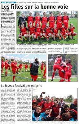 Le Dauphiné Libéré du 13-05-2019- Valence Football