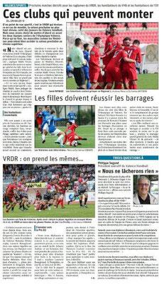 Le Dauphiné Libéré du 25-04-2019- Valence-SPORTS