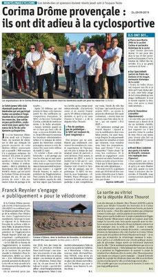 Le Dauphiné Libéré du 25-05-2019- Montélimar