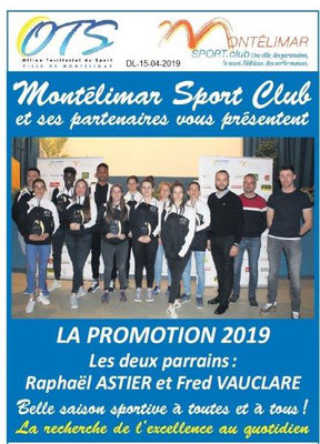 Le Dauphiné Libéré du 15-04-2019- Sport Club à Montélimar