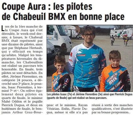 Dauphiné Libéré du 21-03-2018-BMX Coupe AURA-Chabeuil