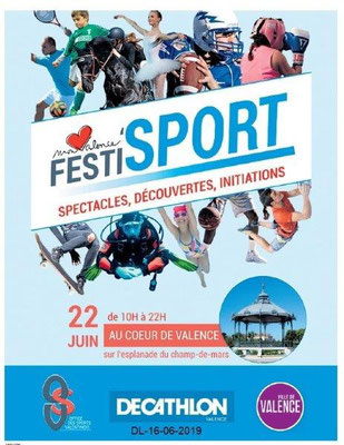 Dauphiné Libéré du 16-06-2019- FESTI'SPORT OSValentinois