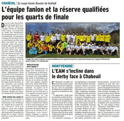 Dauphiné Libéré du 14-03-2018 Foot-Chabeuil