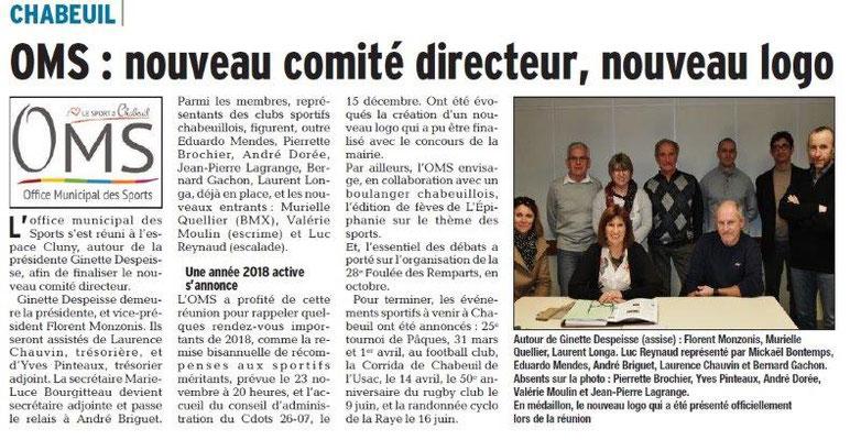 Dauphiné Libéré du 30-03-2018-OMS Chabeuil