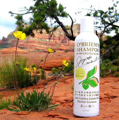 "❦オブライエンズシャンプー O'BRIEN'S SHAMPOO  ""Mystic dew"" - a golden Oasis for your skin."