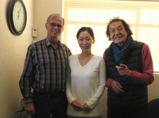♔ Jojoba with Rick Warren san, Sayuri & Hiroshi Watanabe