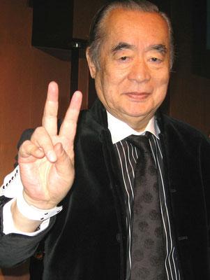 ༺♥༻ トーク15 ღ 中松義郎(ドクター・中松) *❀♡❀°˚ :☆・∴・∴・∴・∴・∴