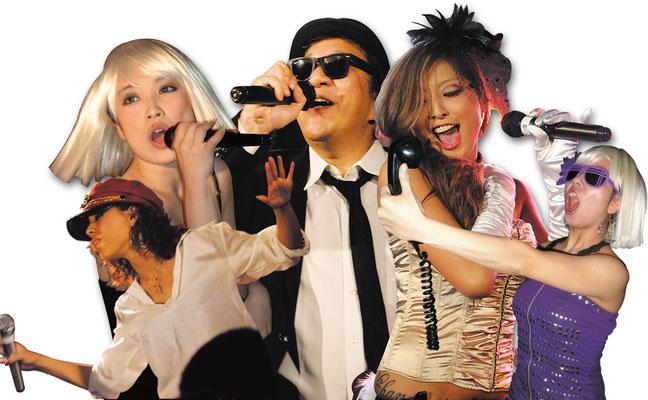 ༺♥༻ 特別ご出演 ღ ジャンキーフジヤマ ♥ フィリップ ♥ エミューズシスターズ *❀♡❀°˚ :☆・∴・∴・∴・∴・∴