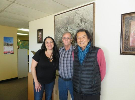 ♔ Jojoba with Sarah Ross san, Rick Warren san & Hiroshi Watanabe