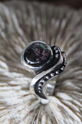 #ring #silverring #quartzchlorite #jewellery #artjewellery