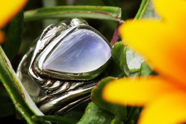 #ring #silverring #jewellery #artjewellery #moonstone