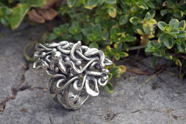 #ring #silverring #jewellery #artjewellery