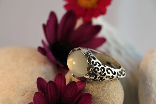 #ring #silverring #moonstone #jewellery #artjewellery#
