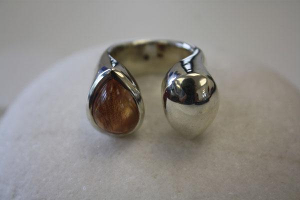 #ring #silverring #jewellery #artjewellery #sunstone