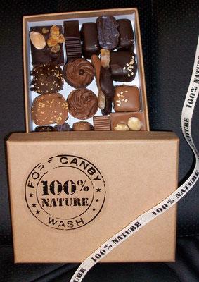 Boîte 100% Naturel - 2 tailles : 170gr, 11,20€ / 230gr, 18,20€