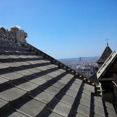 Auf dem Dach des Sacré-Coeur