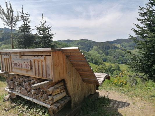 Schwarzwald | Hausacher Bergsteig | Rast mit Blick
