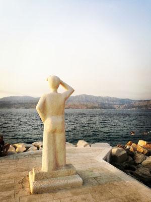 Der Mann am Meer