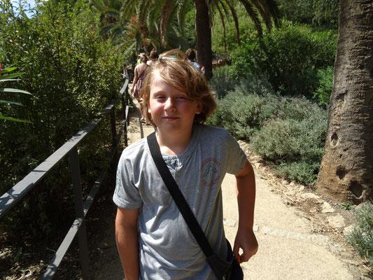 Im Park Güell auf Entdeckungsreise