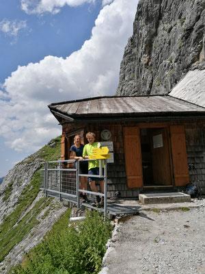 Ziel erreicht: Bertgenhütte