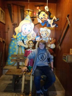 Pinocchio überall...